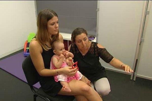 Analyse du comportement de jeunes enfants au Babylab d'Aix-en-Provence