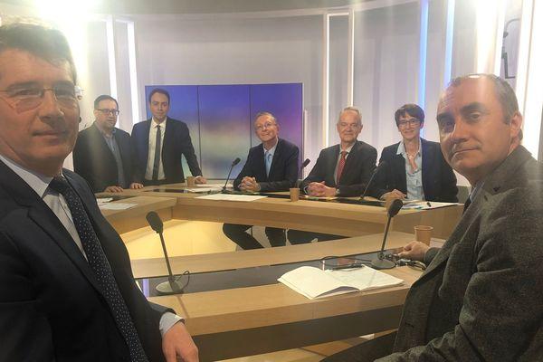 Mercredi 26 février, sur le plateau de France 3 Auvergne a eu lieu un débat dans le cadre des élections municipales à Montluçon dans l'Allier.