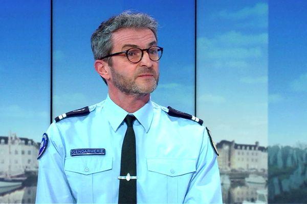 Le lieutenant Sébastien Possémé, commandant la brigade numérique de la gendarmerie de Rennes