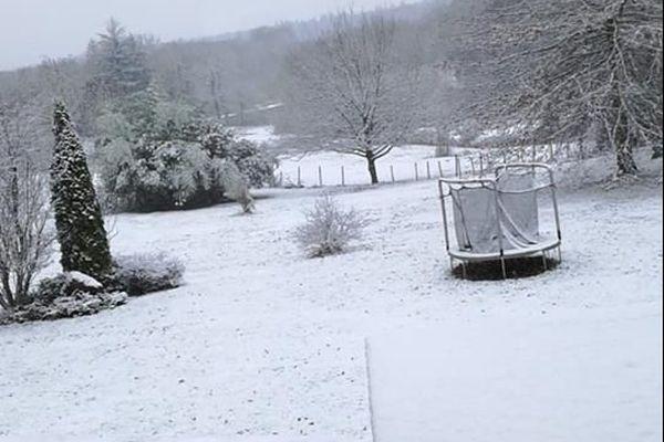 Neige à Feytiat le 22.01.2019