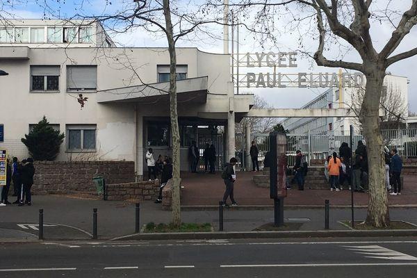 Une nouvelle intrusion a eu lieu ce mardi au lycée Paul-Eluard de Saint-Denis (Seine-Saint-Denis). Deux personnes ont été interpellées.