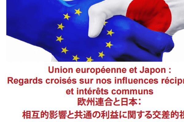 Affiche officiel du colloque Nihon-EuropA des 26 et 27 mars 2018.