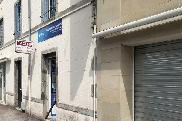 L'épicerie fermée pour raisons d'hygiène par les services de Police avenue du Général Leclerc à Limoges
