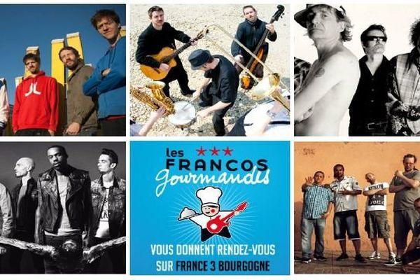TelDem Com'unity, La Mine de Rien, Les Wampas, Skip The Use, Dub Inc sont à l'affiche du festival musical et gastronomique les Francos Gourmandes vendredi 13 juin 2014