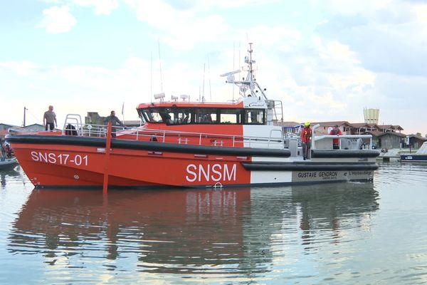 Le Gustave Gendron le premier d'une série de 70 navires pour la SNSM. (21/10/21)