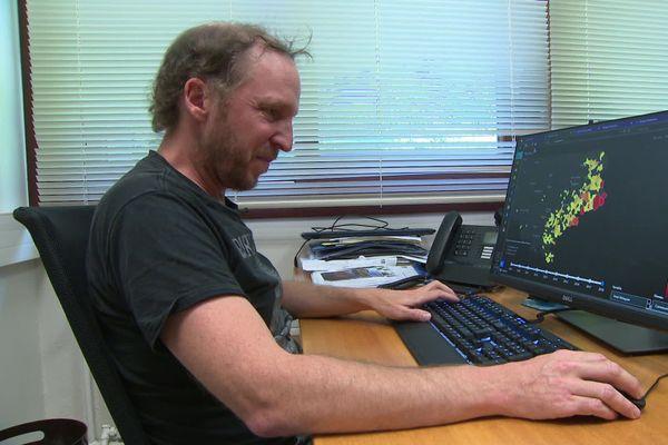 Frédéric Bray est l'un des concepteurs grenoblois de l'application