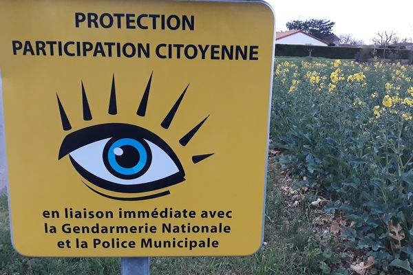 L'ancienne version du logo Participation citoyenne