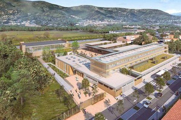 Ce collège Arnaud Beltrame accueillera les enfants dès la rentrée 2018-2019.