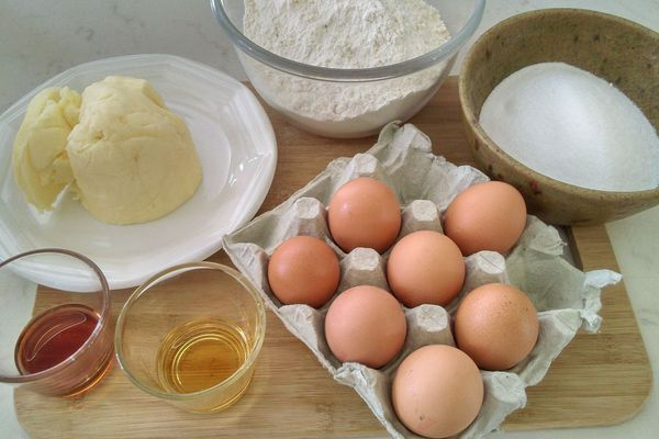 Les ingrédients du gâteau breton de Fabrice Vernier