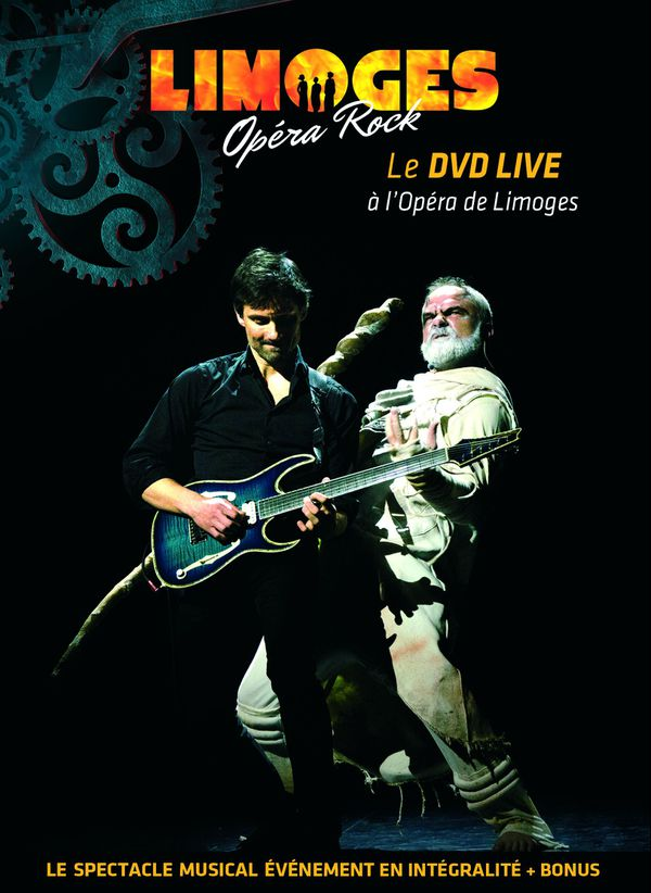 Visuel du DVD de Limoges Opéra Rock