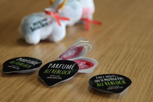 Les préservatifs au reblochon