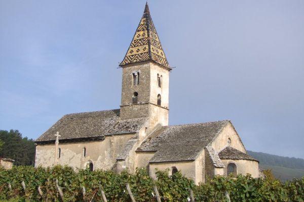 La plus ancienne église romane de Côte-d'Or
