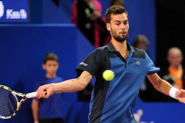 Benoît Paire au tournoi ATP de Montpellier