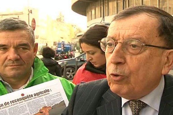 Jean-Claude Martinez - ancien député de l'Hérault et ancien député européen, candidat à la présidentielle - 2015.