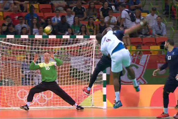 Thierry Omeyer, décisif dans les buts tricolores