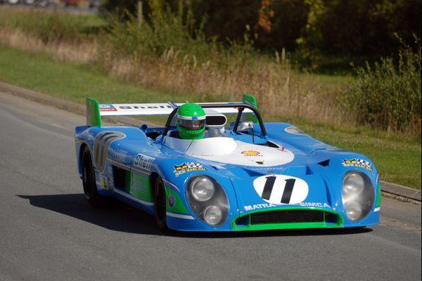 La mythique Matra MS670, victorieuse des 24H du Mans en 1972.