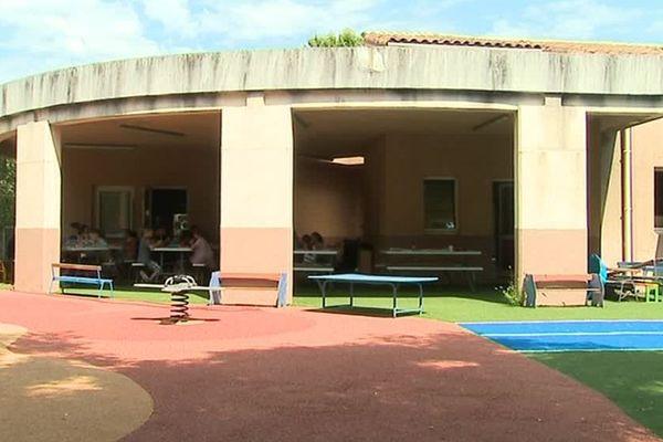 Le centre aéré d'Aniane a pris ses dispositions pour adapter ses activités pour les enfants aux conditions météorologiques caniculaires.