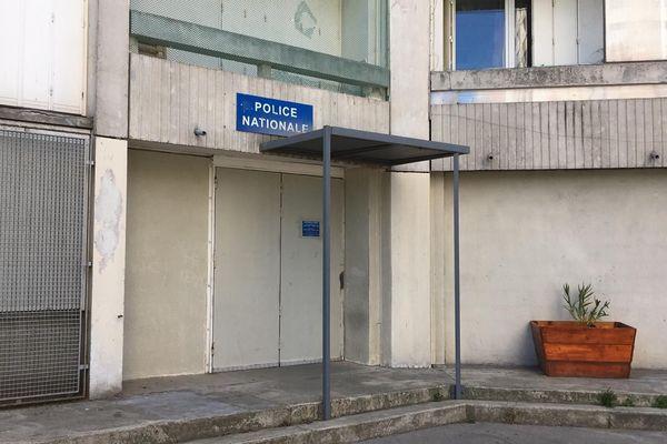 Les locaux de police du quartier Valdegour à Nîmes ont été la cible d'un incendie - 8 juin 2019