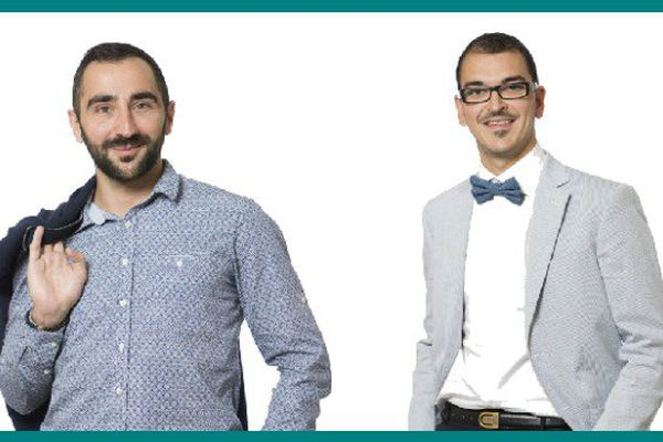 Yannick Franceschi et Julien Girardon