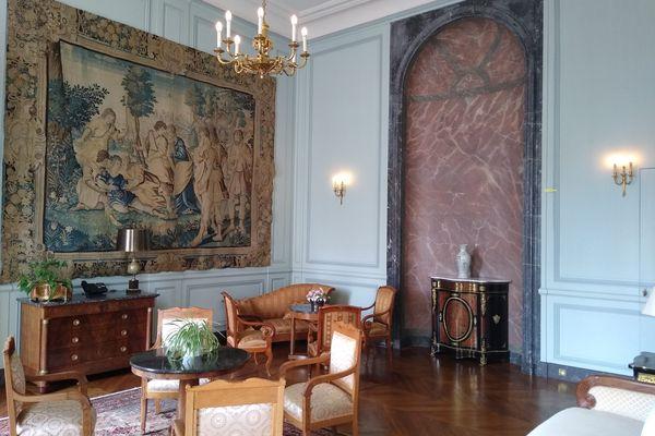 Les appartements du préfet de la Marne.
