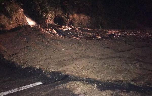 Coulée de boue entre Prats de Mollo et la Preste (66)