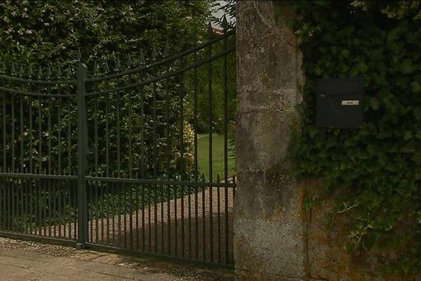 C'est devant le portail de sa propriété que David Daniels a été assassiné mardi soir