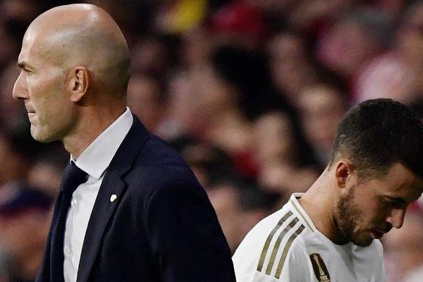 Zinédine Zidane, l'entraîneur du Real Madrid, attend plus d'Eden Hazard.