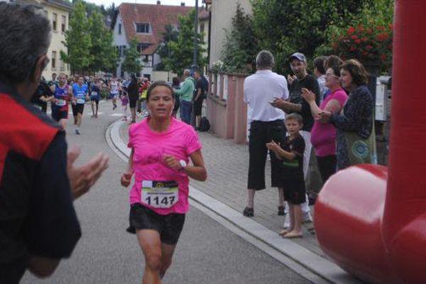 Katia Hirtz, lors de 10kms de Mommenheim