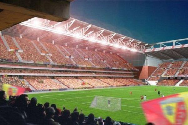 Le futur stade de Lens