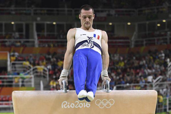 Lors des JO de Rio en 2016, Cyril Tommasone avait terminé à la 4ème place en finale du cheval d'arçons. Le Lyonnais a échoué lors des qualifications, le 24 juillet 2021, à Tokyo.