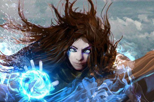 """Le roman """"Divine Corruption"""" et les deux jeux de société à venir se déroulent dans le même univers de dark fantasy."""