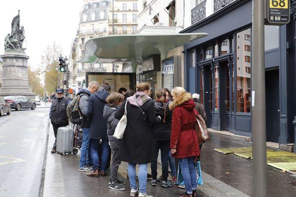 Seuls un tiers des bus de la RATP circulent ce lundi 9 décembre.
