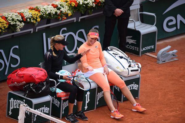 La Nordiste Kristina Mladenovic s'est qualifiée avec sa coéquipière Timea Babos pour disputer la finale du double dames à Roland-Garros.