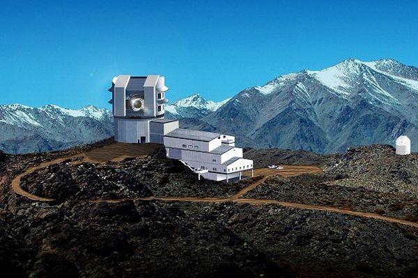 Le futur téléscope sera installée à 2500 mètres d'altitude sur la montagne du Cerro Panchon au Chili.