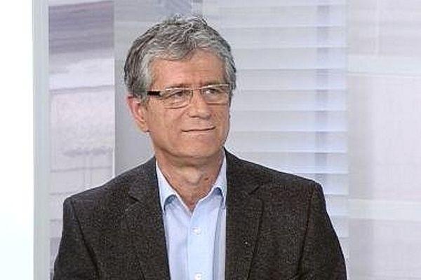 Philippe Hervieu, président du groupe Europe Ecologie-Les Verts au conseil régional de Bourgogne