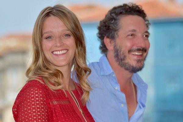 L'actrice Adeline D'Hermy et le réalisateur Guillaume Gallienne au FFA 2017
