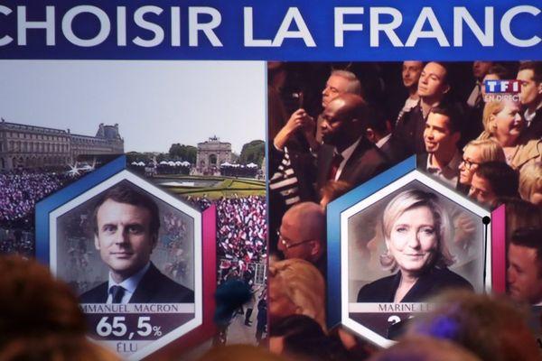 Emmanuel Macron élu au second tour de l'élection présidentielle 2017