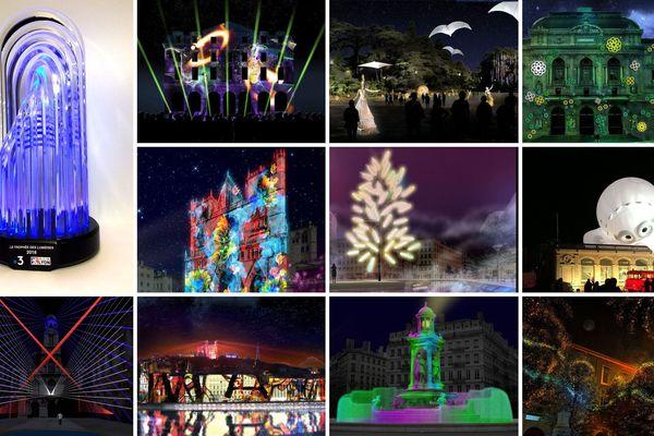Du 6 au 9 décembre 2018, les internautes sont invités à voter pour le Trophée des Lumières France 3 décerné à l'occasion de la Fête des Lumières à Lyon.