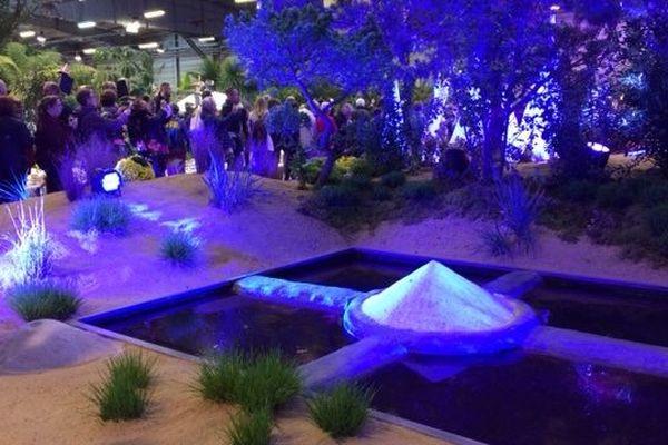 Dès l'ouverture, il y avait du monde pour visiter les halls du parc des expositions de Beaujoire qui accueillent les Floralies Internationales