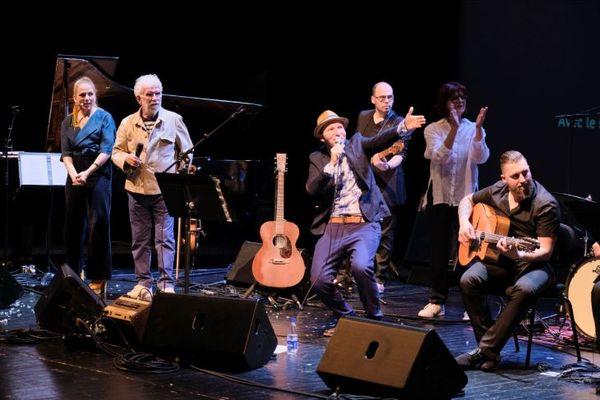 L'Ill aux trésors - D' Wùnderìnsel ìn de Ill - spectacle d'ouverture Friehjohr 2019. Spectacle musical créé par Matskat et son équipe pour le lancement du Friehjohr fer unseri Sproch le 30 mars 2019 à la Cité de la Musique et de la Danse.