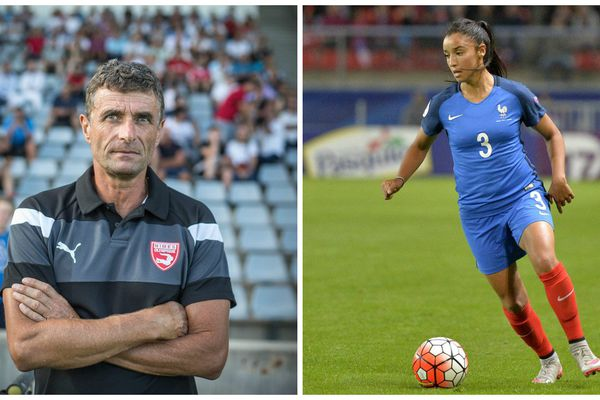 Bernard Blaquart (entraîneur du Nîmes olympique) et Sakina Karchaoui (Montpellier) sacrés aux trophées de l'UNFP.