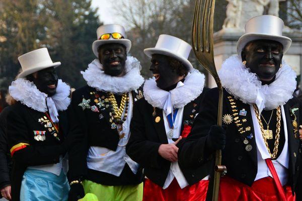 """Les """"Noirauds"""" ne défileront plus à Bruxelles avec le visage noirci."""