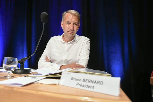 Le nouveau président de la Métropole de Lyon : l'écologiste Bruno Bernard a été officiellement élu ce jeudi 2 juillet 2020.