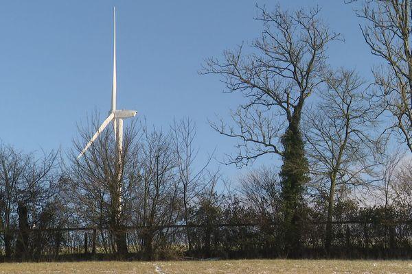 Le parc éolien d'Echauffour, dans l'Orne, en pause le temps d'expertises sur les nuisances sonores
