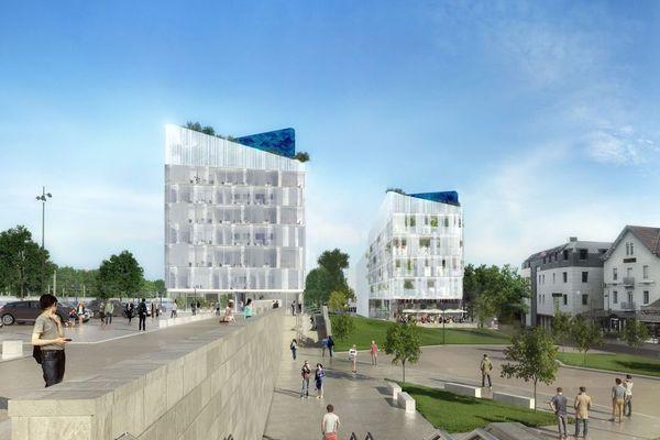 Ce sont ces deux édifices qui sortiront d'abord de terre, d'ici fin 2019.