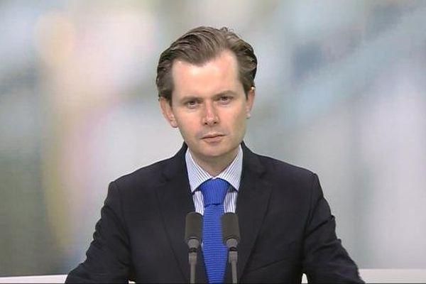 Guillaume Larrivé, député UMP de l'Yonne