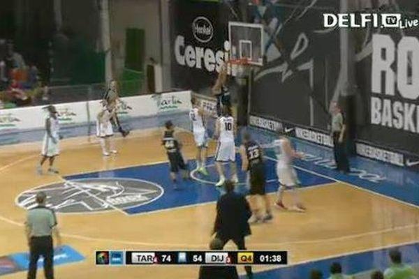Les basketteurs dijonnais ont souffert en Estonie.