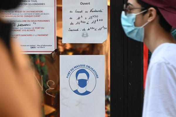 A Toulouse, le port du masque devient obligatoire en extérieur. Photo d'illustration.