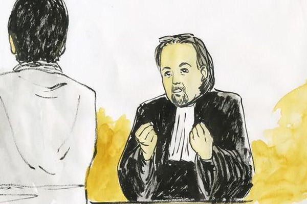 Maître Costantino, avocat de l'association Enfance et Partage