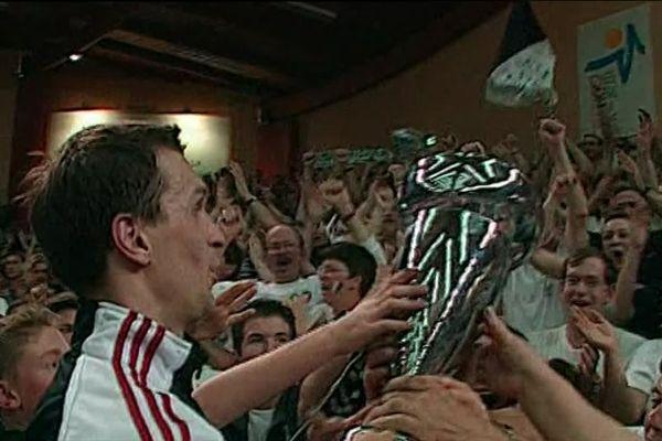 Il y a 20 ans, le club poitevin célébrait son titre avec le public